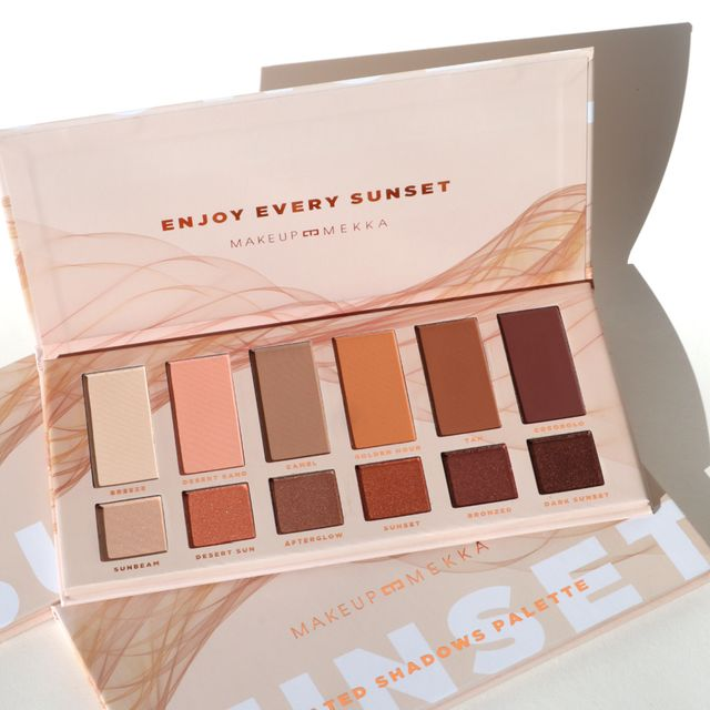 Sunset Heated Shadows Palette